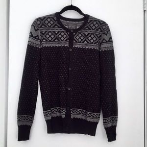 All saints mans cardigan sweater size S